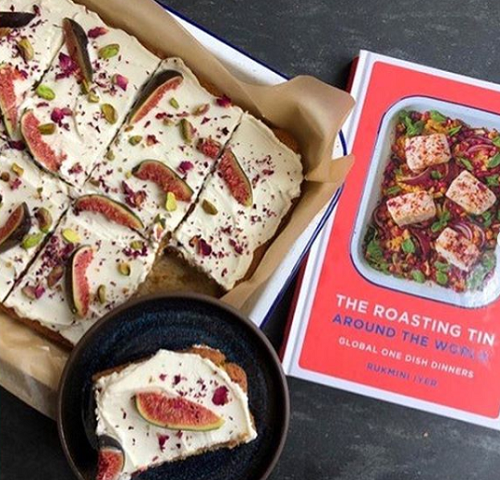 Georgina Hayden's Persian Love Cake made with a recipe from The Roasting Tin Around The Wo ...