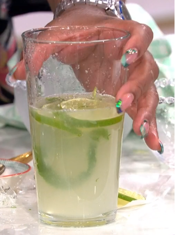 Alison Hammond's mojito cocktail on This Morning