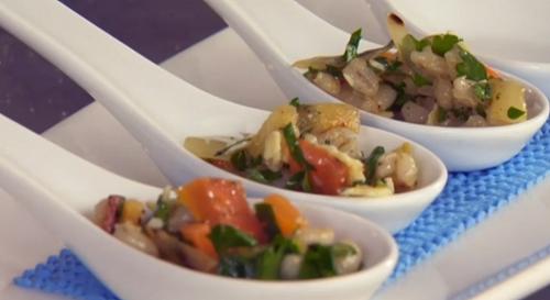 Nick Nairn and Dougie Vipond' s Scotch barley salad on The Great Food Guys