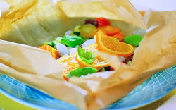 Stacie Stewart's backed cod with orange and olives for the Citrus Diet on How To Lose Weig ...