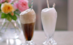John Torode's lemonade and cola floats on John and Lisa's Weekend Kitchen