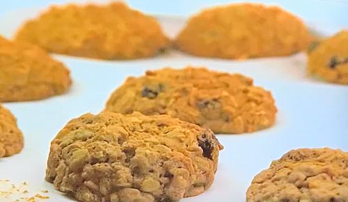 Kim's oatmeal cookies on James Martin United Cakes of America