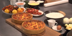 James Martin's quiche masterclass on This Morning