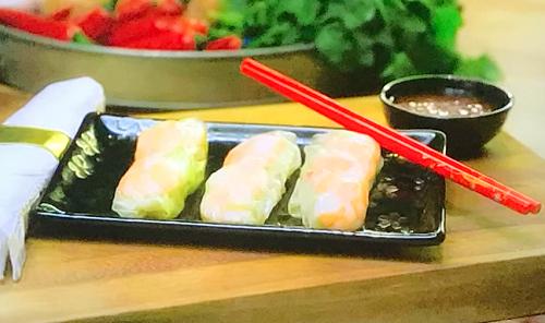Gok Wan Vietnamese summer rolls on Gok Wan's Easy Asian