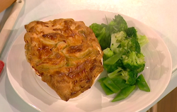 Michael Caines steak and ale pie with oysters on Saturday Kitchen