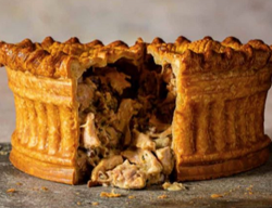 Calum Franklin's Chicken, Tarragon and Mushroom pie on Sunday Brunch