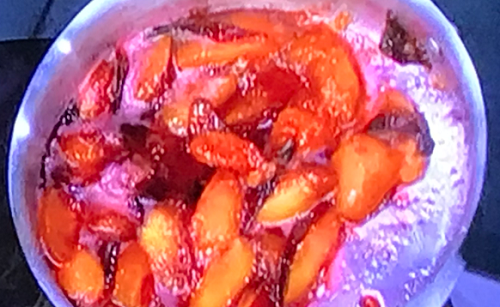 James Martin plum compote on James Martin's Saturday Morning