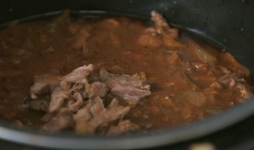 Gregg and Hayley's slow cooked oxtail ragu on Eat Well For less?