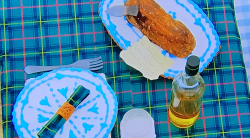 Peter's biscuit burns supper on The Great British Bake Off 2020