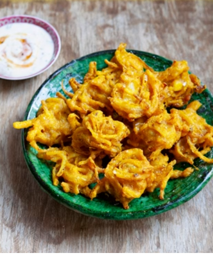 The Hairy Bikers pickled onion bhaji on The One Show