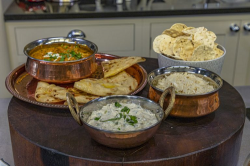 Dipna Anand chicken makhani (Indian Butter Chicken) on James Martin's Saturday Morning