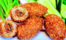 John Torode lamb kibbeh with lime and spices on John Torode's Middle East
