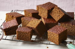 Mary Berry granny's gingerbread with black treacle  on Mary Berry's Simple Comforts