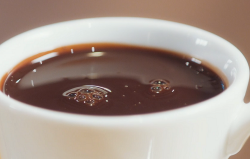 Ian's hot chocolate made with truffles on Mary Berry's Simple Comforts