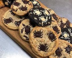 Mark Tilling spider cookies on James Martin's Saturday Morning