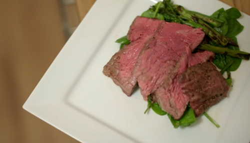 John's fillet steak with chargrilled vegetables on Eat Well For Less?