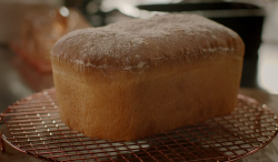 Nigella Lawson old fashioned sandwich loaf with spoilt milk on Nigella's Cook, Eat, Repeat