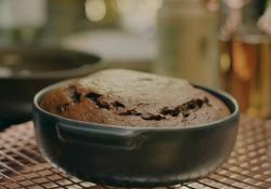 Nigella Lawson warm chocolate pudding cake with tahini on The One Show