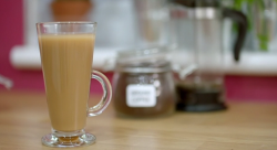 Aliyah's homemade ice coffee on Eat Well for Less?