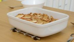 Aliyah's baked spiced honey and apple porridge on Eat Well For Less?