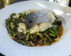 James Martin Sea Bass with Broccolini and a Black Bean Sauce on James Martin's Saturday Mo ...