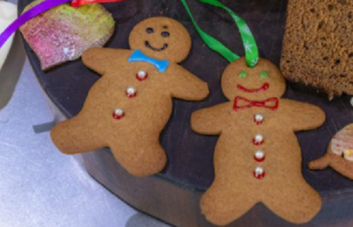 James Martin gingerbread for the Christmas tree on James Martin's Saturday Morning