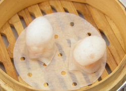 Andrew Wong's prawn dumplings with sweet chilli sauce on Masterchef The professionals 2020