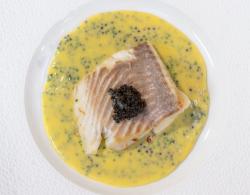 James Martin Pan Fried Turbot with Caviar and Beurre Blanc Sauce on James Martin's Saturda ...