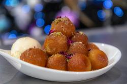 Dipna Anand  gulab jamuns Indian dough balls on James Martin's Saturday Morning