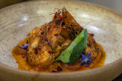 Atul Kochhar monkfish and prawn curry with a patiala shahi sauce on James Martin's Saturda ...
