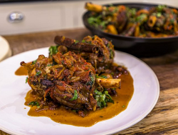 James Martin lamb shank tagine with preserved lemons, apricots and sultanas on  James MartinR ...
