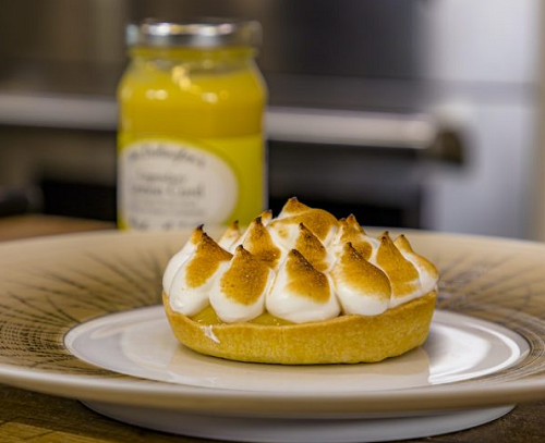 James Martin Lemon Meringue Pie with Lemon Curd filling on James Martin's Saturday Morning
