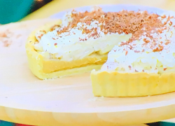 Anne-Marie's banoffee pie on The Great Celebrity Bake Off for SU2C
