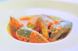 Gianni's family mussels  stuffed with beef and ricotta cheese, breadcrumbs garlic and parsley  i ...