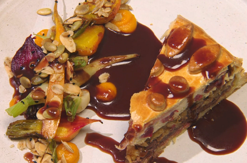 Johnston's Fluid beef pie with beef consomme by Roberta Hall-McCarron on the Great British ...