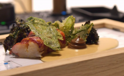 Ada Lovelace's Algorithm To The Perfect Plated Lobster fish course with kale and elderflow ...
