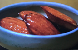Tommy Banks miso and rhubarb Madeleines on Gregg Wallace: Big Weekends Away