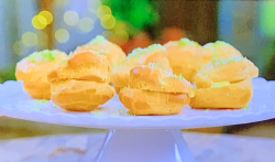 Nadine's coconut and lime on The Great Celebrity Bake Off for SU2C
