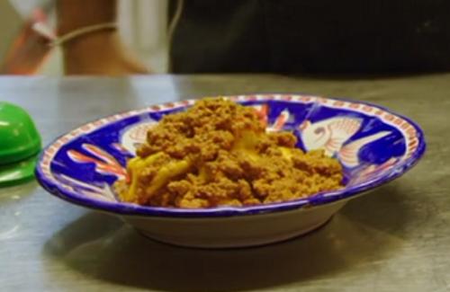 Tordelli lucchesi pasta on A Taste of Italy with Nisha Katona