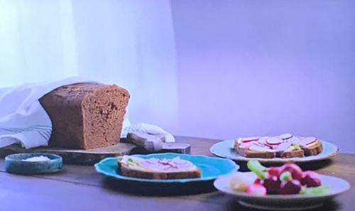 Rachel Khoo chocolate bread tin whole meal and plain flour and eggs on Rachel Khoo's Chocolate
